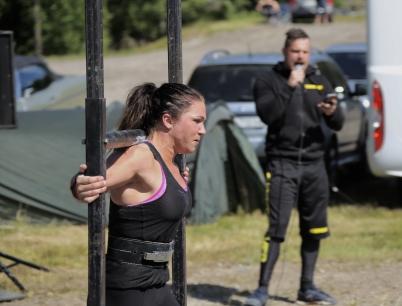 15 juli 2017 - Vid travbanan arrangerades styrketävlingen Strongman och Strongwoman.