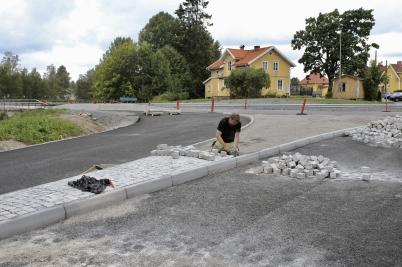 24 augusti 2017 - Och i Töcksfors knackades det sten.