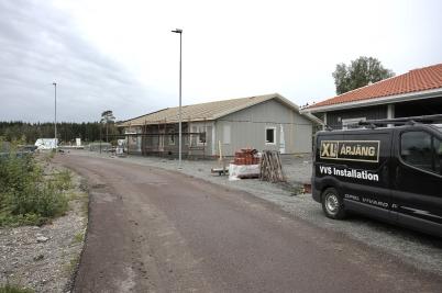 31 augusti 2017 - På Prästnäset byggde man parhus.