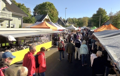 16 september 2017 - Så var det dags för Årjängs höstmarknad.