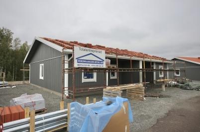 24 september 2017 - På Prästnäset byggde man parhus.