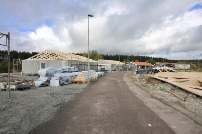 3 oktober 2017 - Och på Prästnäset byggde man parhus på löpande band.