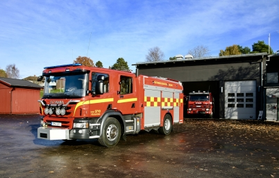 27 oktober 2017 - Räddningstjänsten i Töcksfors fick ny räddningsbil.