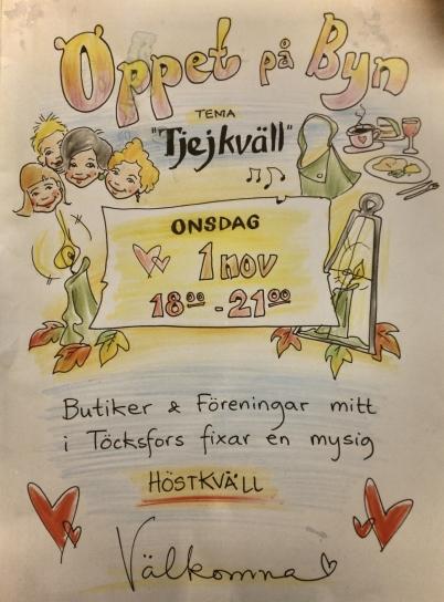 1 november 2017 - Så var det Öppet på Byn.