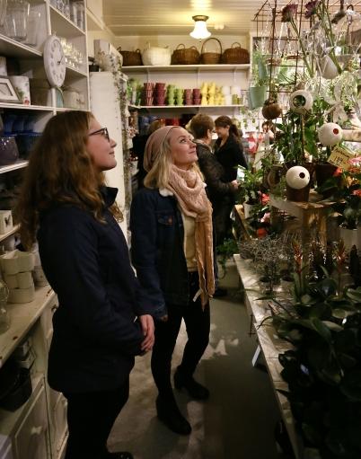 1 november 2017 - Öppet på Byn, en tjejkväl i Töcksfors cenrum.