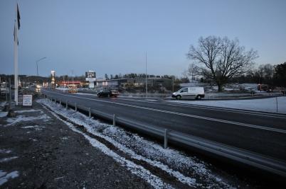 13 november 2017 - Nya in- och utfarten vid Älverud togs i bruk.