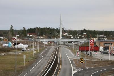 9 december 2017 - I Örje var det dags för officiell öppning av E18 Gränsen - Örje och Norgesporten.