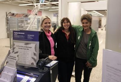 22 december 2017 - Sista arbetspasset i coop Konsums postexpedition vid torget i Töcksfors.