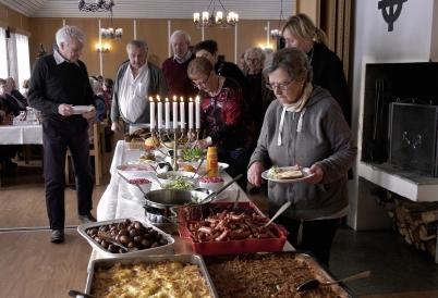 17 december 2017 - I Töcksmarks  kyrka och församlingshem arrangerades sammankomsten Jul i Gemensakp.
