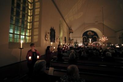28 december 2017 - I Holmedals kyrka gavs den traditionella julkonserten.
