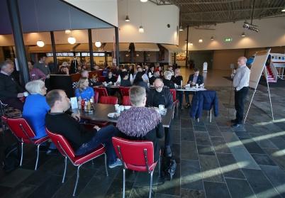 Lars-Kåre Legernes talade om handel och företagande i Norge och Sverige.