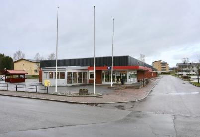 7 november 2017 - Återigen en stängd matbutik i Töcksfors centrum.