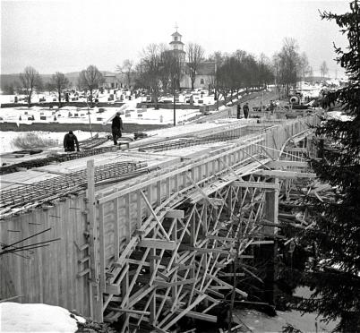 Bron byggdes i mitten av 1950-talet. Foto : Fritz Arenö / Årjängs kommuns bildbank.