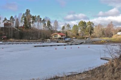 21 februari 2017 - Båtklubben Rävarnas nya klubbstuga - ett nytt Landmärke i Sandviken.