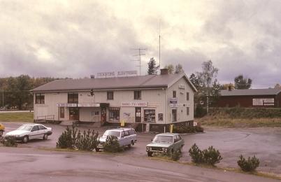 1991 - Töcksfors elektriska och Biblioteket.