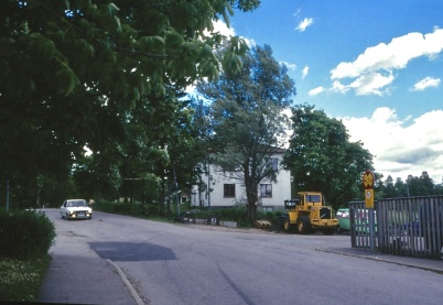 1994 - Carl Nilsson huset, som var post-station på 1950-talet.