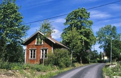 1986 - Töcksfors första telefonstation, senare Nils Håmans bostad.