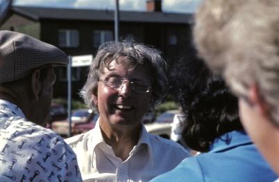 1983 - Gunde Johansson på Töcksmarks-veckan.