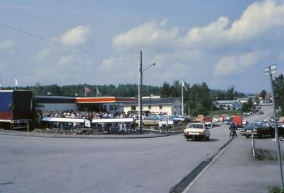 6 juli 1983 - Invigning av Bildelsvaruhuset.