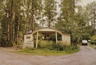 Töcksfors Folkets Park, vid Parkvägen.