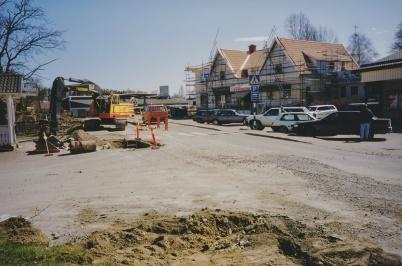 2001 - Upprustning av Töcksfors centrum.