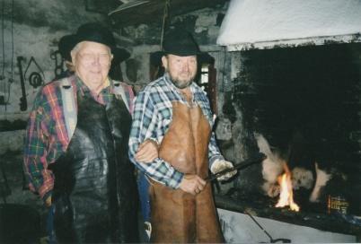 Sigge och Gunnar ( far och son )