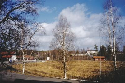 2003 - Älverudsgärdet före bygget av Töcksfors shoppingcenter.
