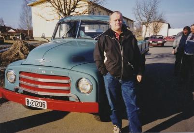 2002 - Per-Arne Espelund Örje, Opel 1953.
