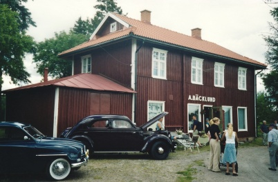 2002 - Holmedagen vid Bäcklunds affär.