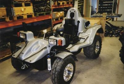 2003 - Handikappfordon som tillverkades i Boviken.