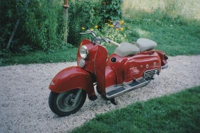 2003 - Zündapp Bella årsmodell 1955.