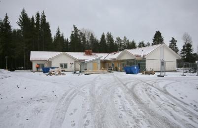 3 januari 2018 - Utbyggnaden av förskolan Junibacken har kommit långt.