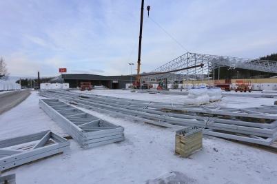 10 januari 2018 - Probad flyttade in i TVAB-fastigheten på Källhultets industri- område, och byggde en stor lagerhall.
