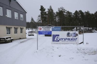 28 januari 2018 - Vid Kölen sportcenter etablerade Maskinföretaget Bergquist ett kontor för arbetet med vindkrafts-parkerna.