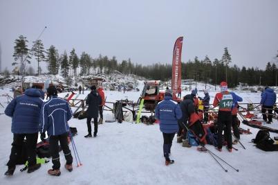 28 januari 2018 - Och så arrangerades det skidtävling vid Kölen sportcenter.