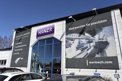 25 april 2018 - Och så köpte HANZA företaget wermland mechanics.