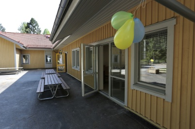17 maj 2018 - Och nya avdelningen vid förskolan Junibacken var klar för invigning.