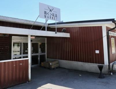 1 juni 2018 - Kötthallen i Töcksfors blev In Al La Market.