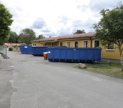 18 juni 2018 - Om- och tillbyggnaden av Töcksfors skola startade med inre rivning.