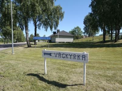 2 juli 2018 - Töcksmarks församling hade i vanlig ordning Vägkyrka under första veckan i juli.