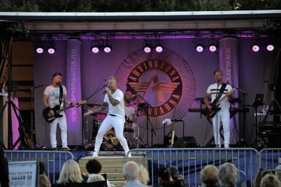 5 juli 2018 - Töcksmarksveckans 40-års jubileum startade med Arvingarnas konsert vid Kulturladan Verket.