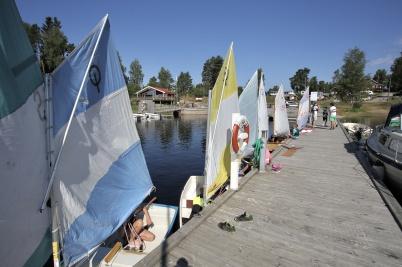 6 juli 2018 - I Sandviken var det dags för seglarskolans avslutningsseglats Foxen Ocean Race.