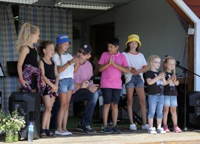 7 juli 2018 - Töcksmarksveckan 40-år - talang på torget var en uppskattad programpunkt.