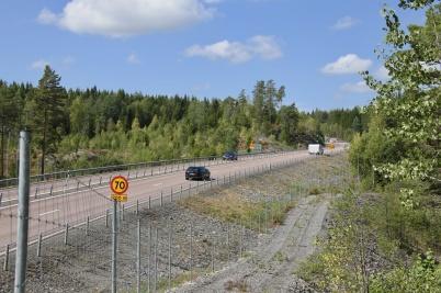 29 juli 2018 - Bygget av tullstationen hade ännu inte kommit igång.