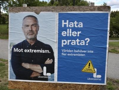 25 augusti 2018 - Så var det dags för val och det handlade mycket om främlings-fientlighet.