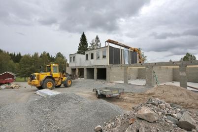 16 september 2018 - Turistgården byggde nytt boende.