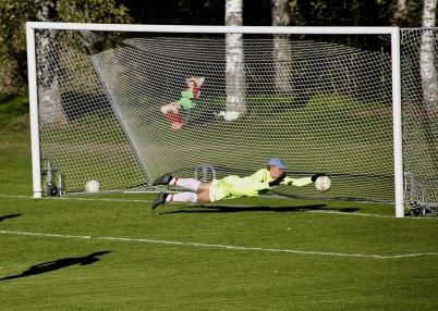 30 september 2018 - Töcksfors IF:s herrlag tog hem seriesegern i div 5 och gick därmed upp i div 4. I finalmatchen fick man se TIF:s målvakt göra fantom-räddningar.