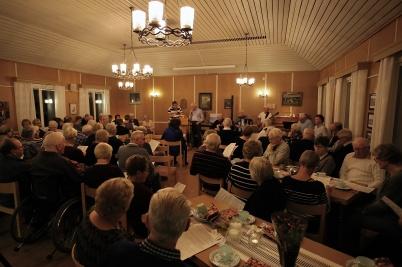 25 oktober 2018 - Församlingshemmet var fullsatt när Over Kölen Gutta - The Border Boys bjöd in till konserten Över alla gränser.