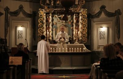 3 november 2018 - På Alla Helgons Dag var det ljuständning i Töcksmarks kyrka för alla som avlidit under året.