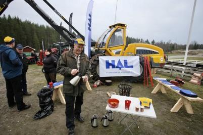 17 november 2018 - Och så ordnade man en Skogsdag på Nordmarkens motorstadion vid Länsmansbråten.